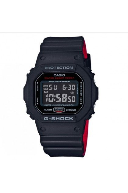 (EURO SET) Casio G-Shock DW-5600HR-1ER Origin Series Men's Digital Watch DW5600 / DW-5600HR / DW-5600HR-1 / DW-5600HR-1E