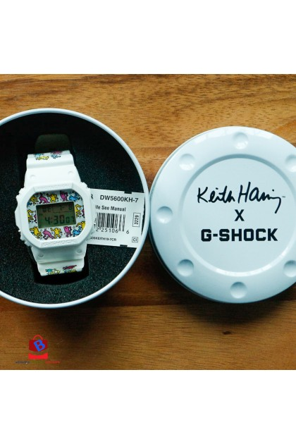 Casio G-Shock DW-5600KEITH-7DR Limited Edition KEITH Collaboration Model DW5600KEITH / FW-5600KEITH-7 / DW-5600KEITH-7D