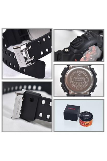 """(JAPAN SET) Casio G-Shock GA-100TAL-1AJR """"Kyo Momiji Color"""" Autumn Leaves Series GA100TAL / GA-100TAL-1 / GA-100TAL-1A / GA-100TAL-1AJ"""