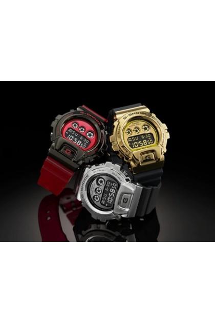 Casio G-Shock GM-6900B-4DR Stainless Steel Bezel Digital Watch GM6900B / GM-6900B / GM-6900B-4 / GM-6900B-4D