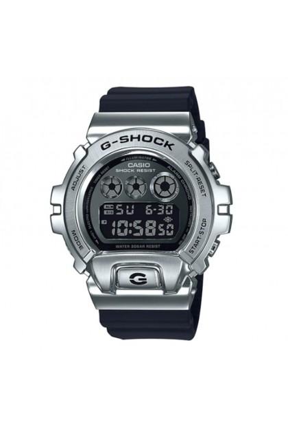 (EURO SET) Casio G-Shock GM-6900-1ER Standard Digital Metal-Covered Bezel Watch GM-6900-1E / GM-6900-1 / GM6900