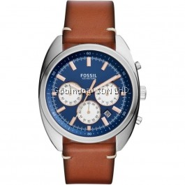FOSSIL CH3045 Drifter Chronograph Light Brown Leather Men's Watch CH3045