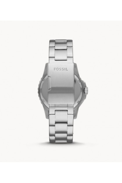 Fossil FS5657 Three-Hand Date Stainless Steel Men's Watch