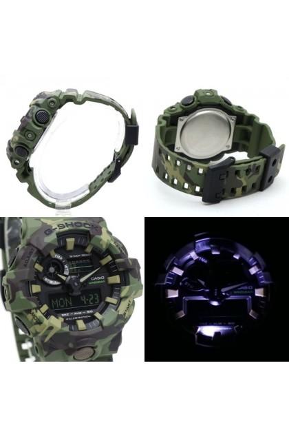 Casio G-Shock GA-700CM-3ADR Camouflage Watch GA-700CM-3AD / GA-700CM-3A / GA-700CM-3 / GA700CM