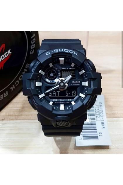 Casio G-Shock GA-700-1BDR Standard Dual Display Men's Watch GA700 / GA-700-1D / GA-700-1BD
