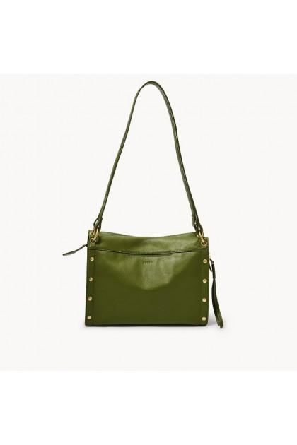 Fossil Handbag Allie Satchel Green Bag ZB1433311