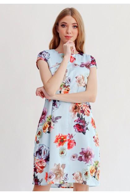 Sophistix Norah Dress In Blue
