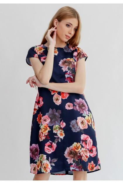 Sophistix Norah Dress In Navy