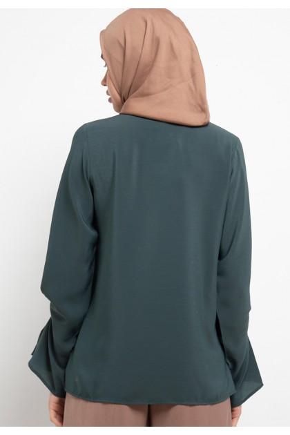 Azzar Aiani Blouse In Green