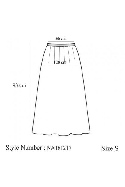 Azzar Gena Skirt In Cream