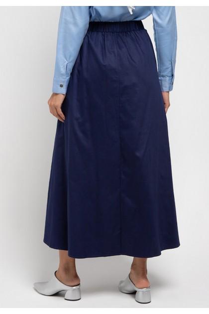 Azzar Gena Skirt In Navy