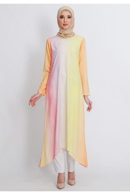Azzar Jaya Maxi Dress in Orange