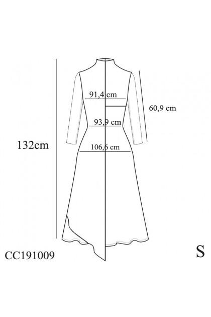 Azzar Jini Maxi Dress In Grey