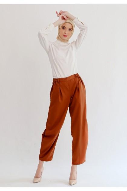 Azzar Maryam Pants In Brown