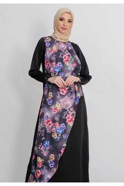 Azzar Shania Maxi Dress In Black