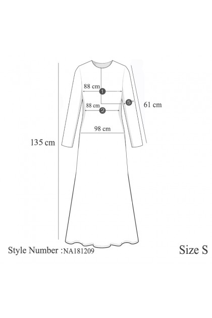 Azzar Tula Maxi Dress In Blue Print