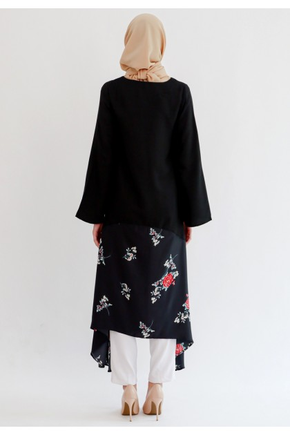 Azzar Zelena Maxi Dress in Black