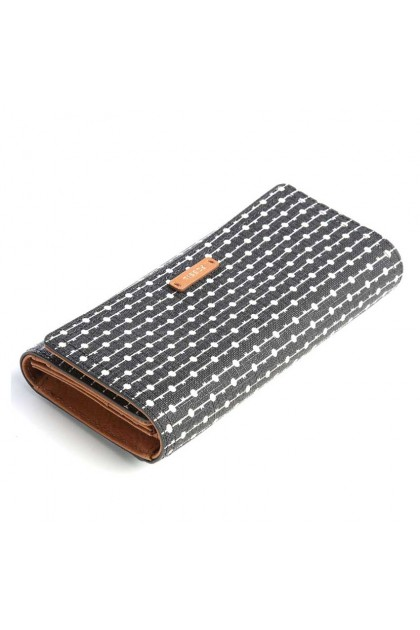 FOSSIL Logan RFID Wallet synthetic black/white SL7832080