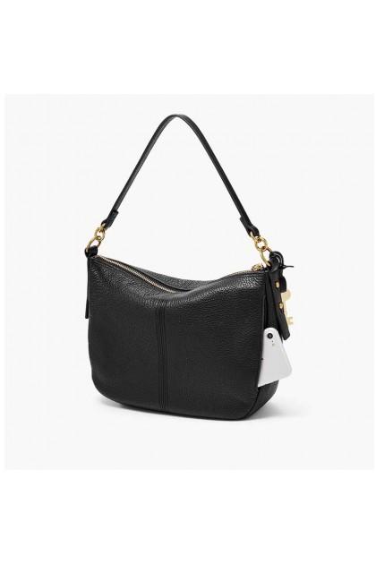 Fossil Jolie Crossbody Solid Black Handbag ZB7716001