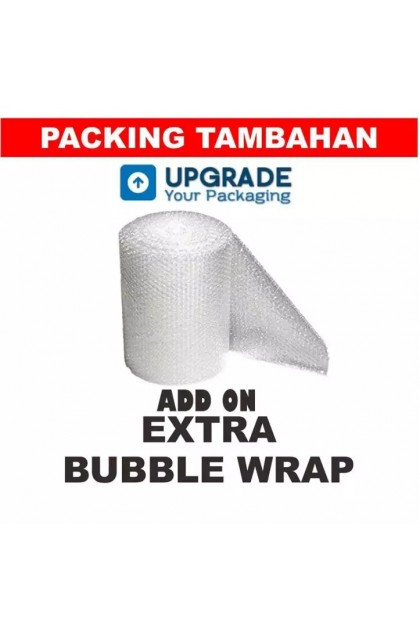 Double Bubble Wrap for Small Items (Add-on Only)