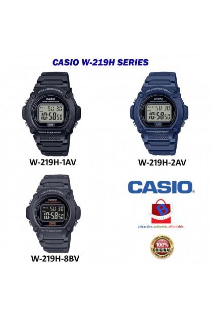 Casio W-219H Series Original & Genuine Watch