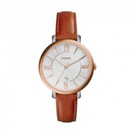 FOSSIL ES3842 Jacqueline Cedar Leather Ladies Watch