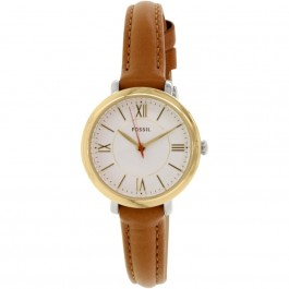 Fossil ES3801 Jacqueline Mini Tan Leather Women's Watch