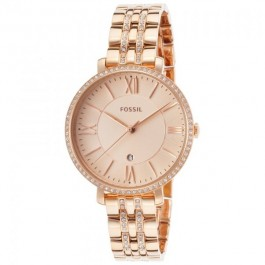 Fossil ES3546 Jacqueline Rose-Tone Stainless Steel Women's Watch