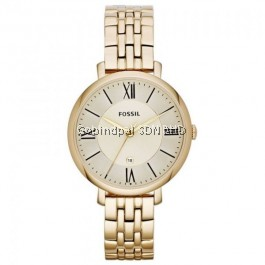 Fossil  ES3434 Jacqueline Gold-Tone Stainless Steel Women's  Watch