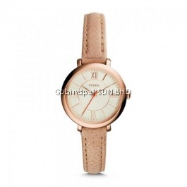 Fossil ES3802 Jacqueline Mini Sand Leather Watch