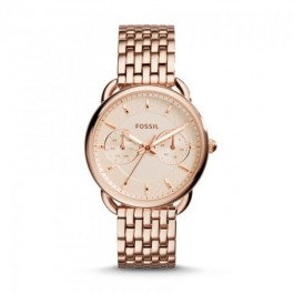Fossil ES3713 Taylor Multifunction Rose-Tone Stainless Steel Women's Watch