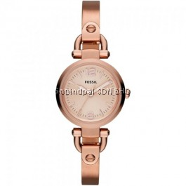 Fossil ES3268 Rose Gold-Tone Stainless Steel Women's Watch