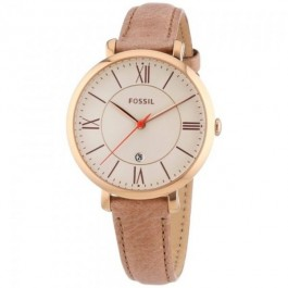 Fossil ES3487 Jacqueline Sand Leather Women's Watch