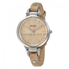 Fossil ES2830 Analog Peach Dial Women's Watch