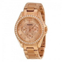 Fossil ES2811 Rose Gold Stainless Steel Women's Watch