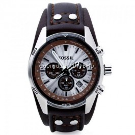 FOSSIL CH2565 Chronograph Leather Men's Watch