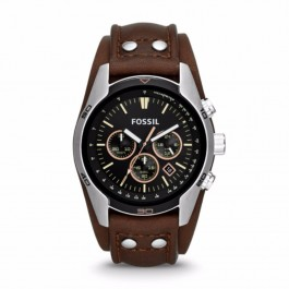 Fossil CH2891 Chronograph Brown Leather Men's Watch