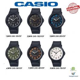 Casio MW-240 Original & Genuine Watch