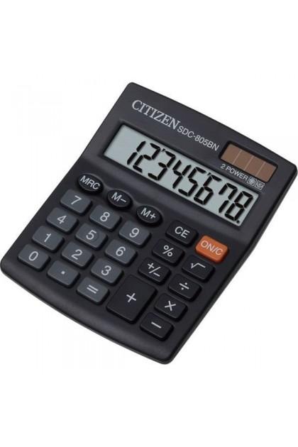 Citizen SDC-805NR 8 Digit Display Dual Powered Calculator