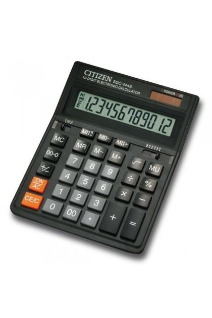Citizen SDC-444S 12 Digit Dual Power Calculator