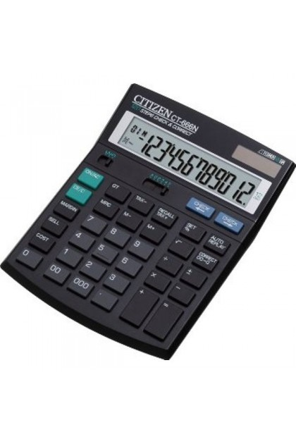 Citizen CT-666N 120 Steps Check & Correct Calculator