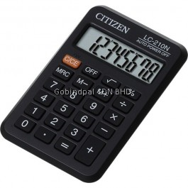 LC-210N Citizen Calculator