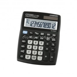 CT-600J Citizen Calculator