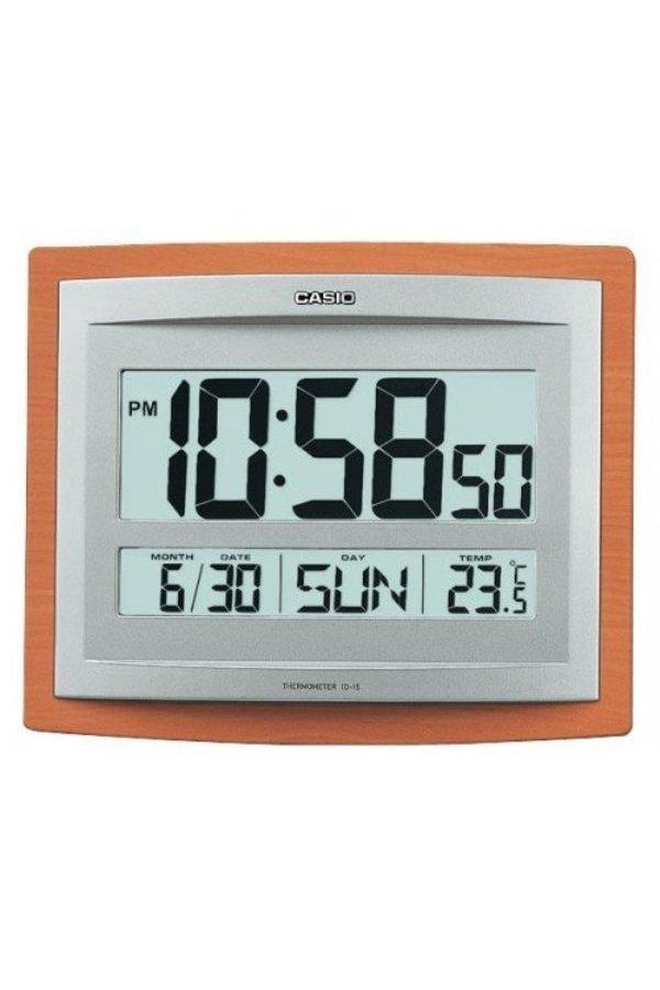 Casio ID-15S-5D Original Table Clock & Alarm