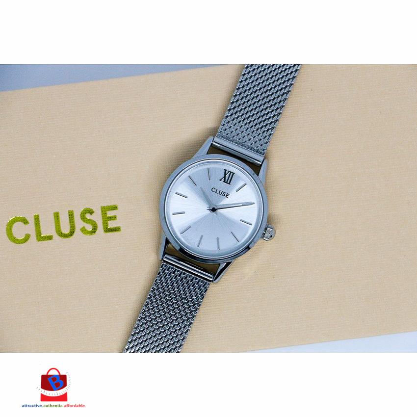 CL50001 Cluse La Vedette Mesh Full Silver Ladies Watch