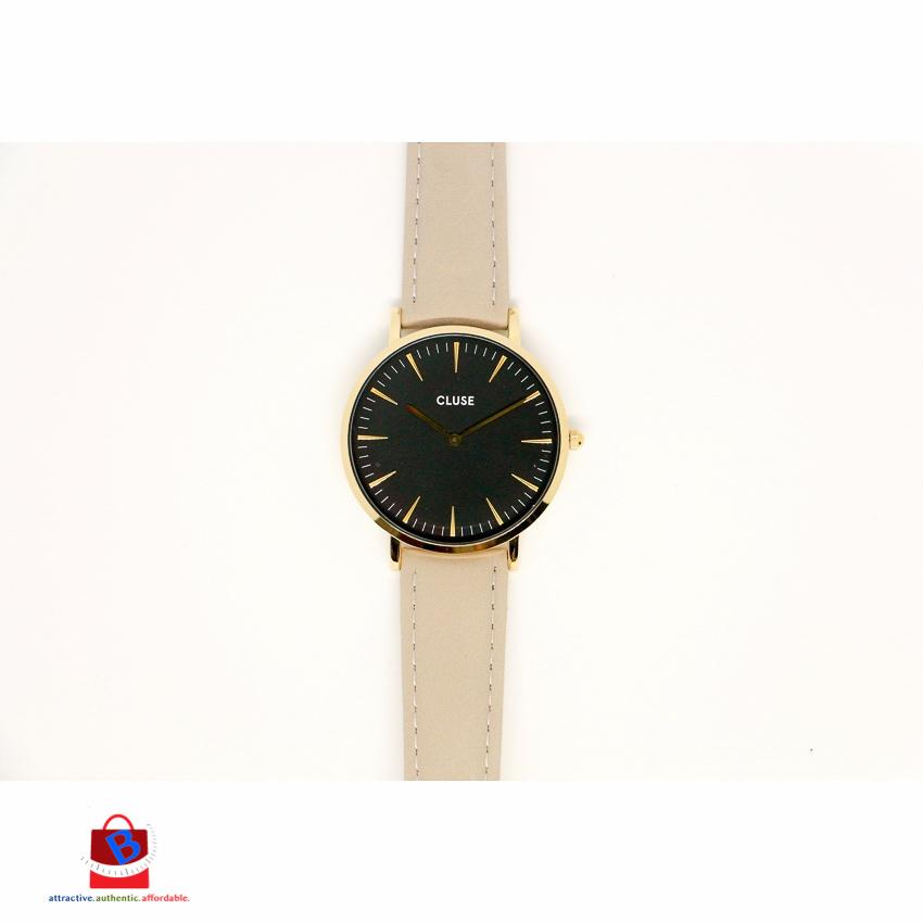 CL18411 Clues La Bohème Gold Black Grey Ladies Watch