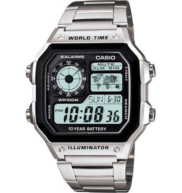 Casio Original & Genuine Watch AE-1200WHD-1AVDF / AE-1200WHD-1AVD / AE-1200WHD-1AV / AE-1200WHD-1A / AE-1200WHD