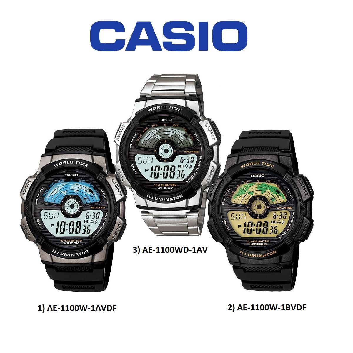 Casio AE-1100W Range Original & Genuine