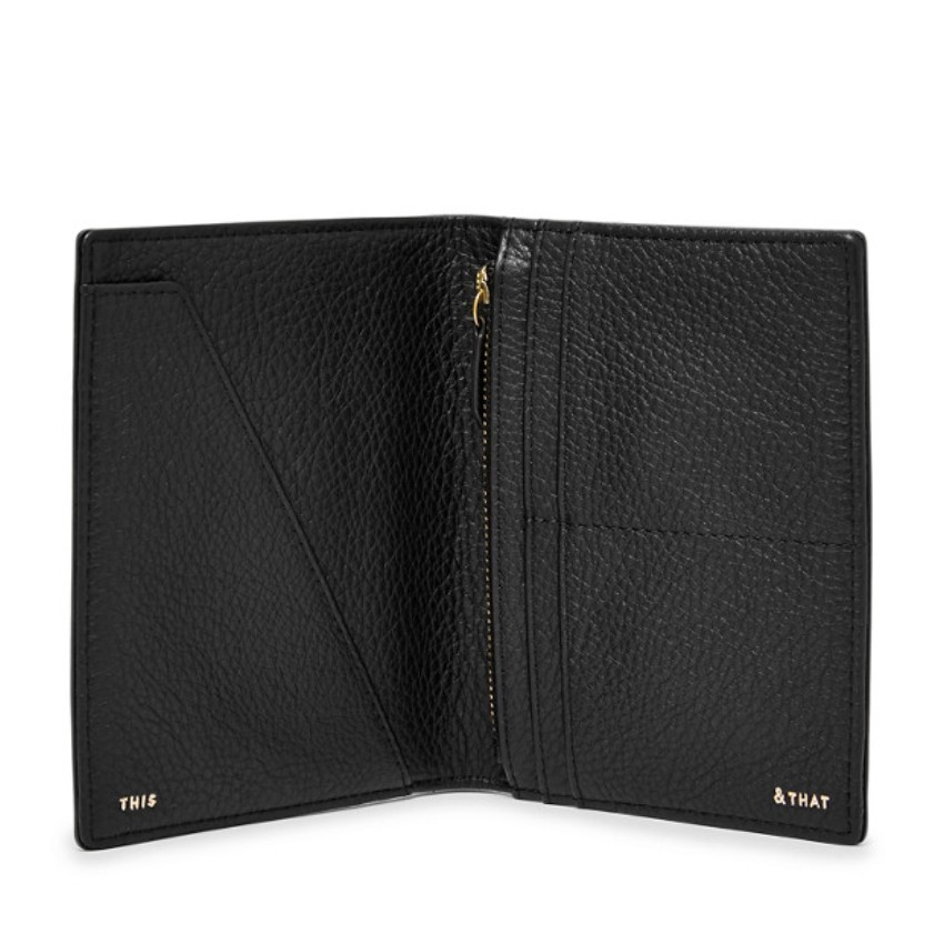 Fossil Rfid Passport Case Black SL7431001