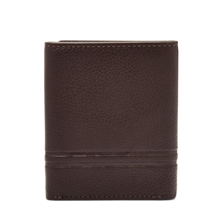 FOSSIL WILDER TRIFOLD DARK BROWN ML4006201